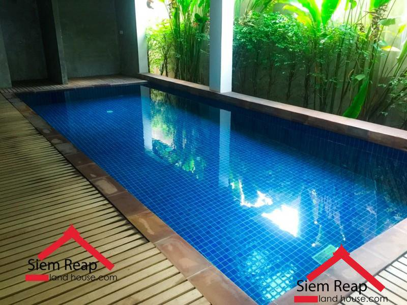 2 bedrooms apartment with swimming pool for rent in Siem Reap ID: AP-198 $550 per month