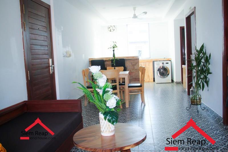 14 units apartment building with full furnish in Siem reap for rent ID:  CMFR-140 $4000 per month