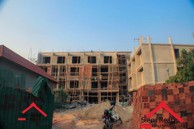 Freehold 40 bedrooms hotel building for rent in siem reap ID: HR-103 $7000/m