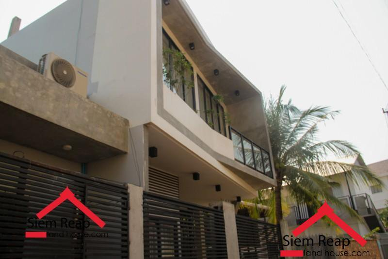1 Bedroom apartment modern style for rent in siem Reap ID A-228 $400 per month.