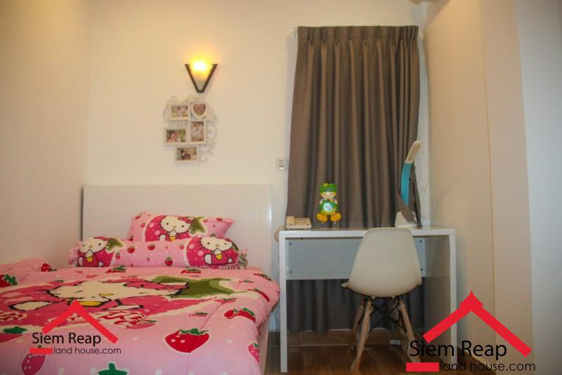 2 bedroom condo in siem reap for rent ID: AP-229 $550 per month