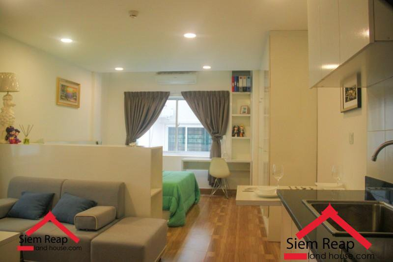 Studio condo in siem reap for rent ID: A-229 $380 per month