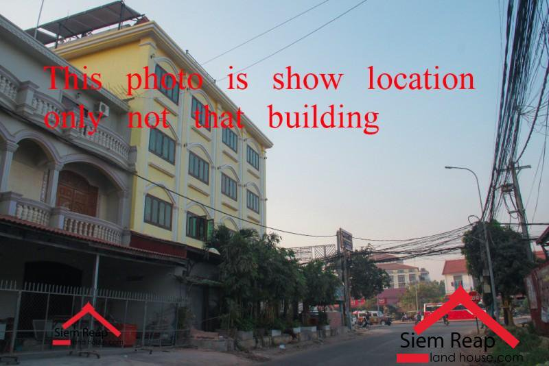 Commercial building on Rd 6A airport side in siem reaps for rent ID: CMFR-176 $8500/m