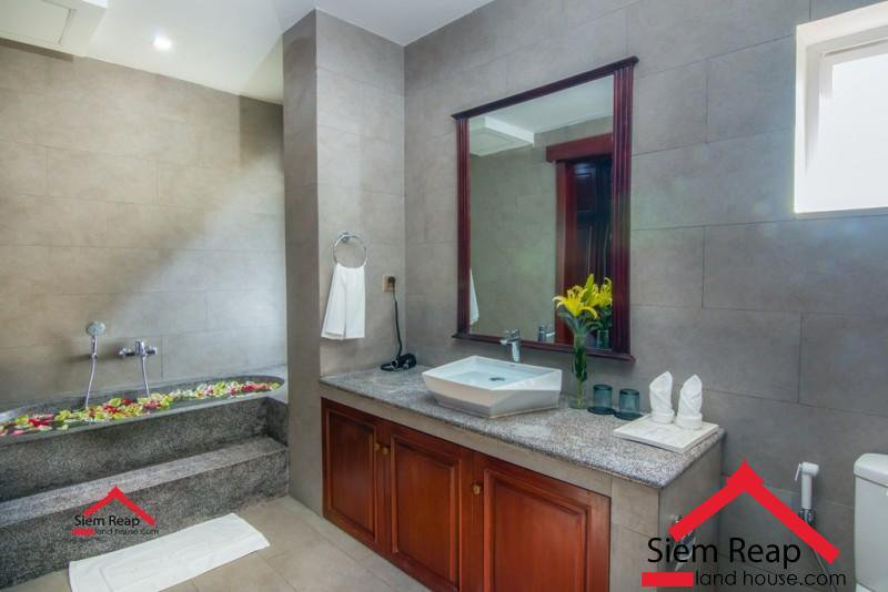 luxury  Apartment 2 bedrooms in siem reap for rent ID: APP-232 $900 per month