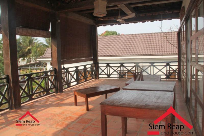 Land and 5 bedrooms house in siem reap for rent ID: HFR-218 $800 per month