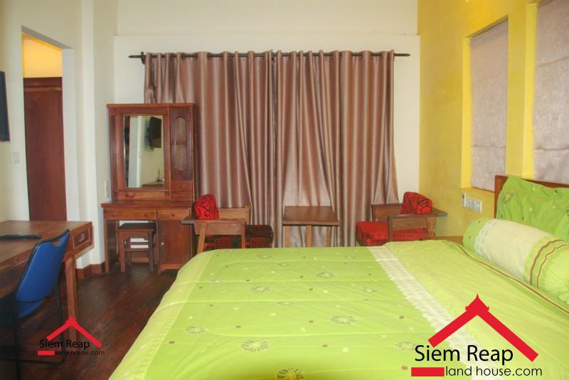 1 bedrooms apartment locate at road 30m Phsa Kralanh for rent ID: A-247 $300 per month