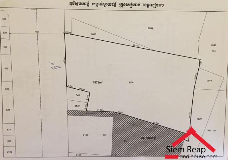Large land Ring road for rent ID: LFS-133 $4000/m