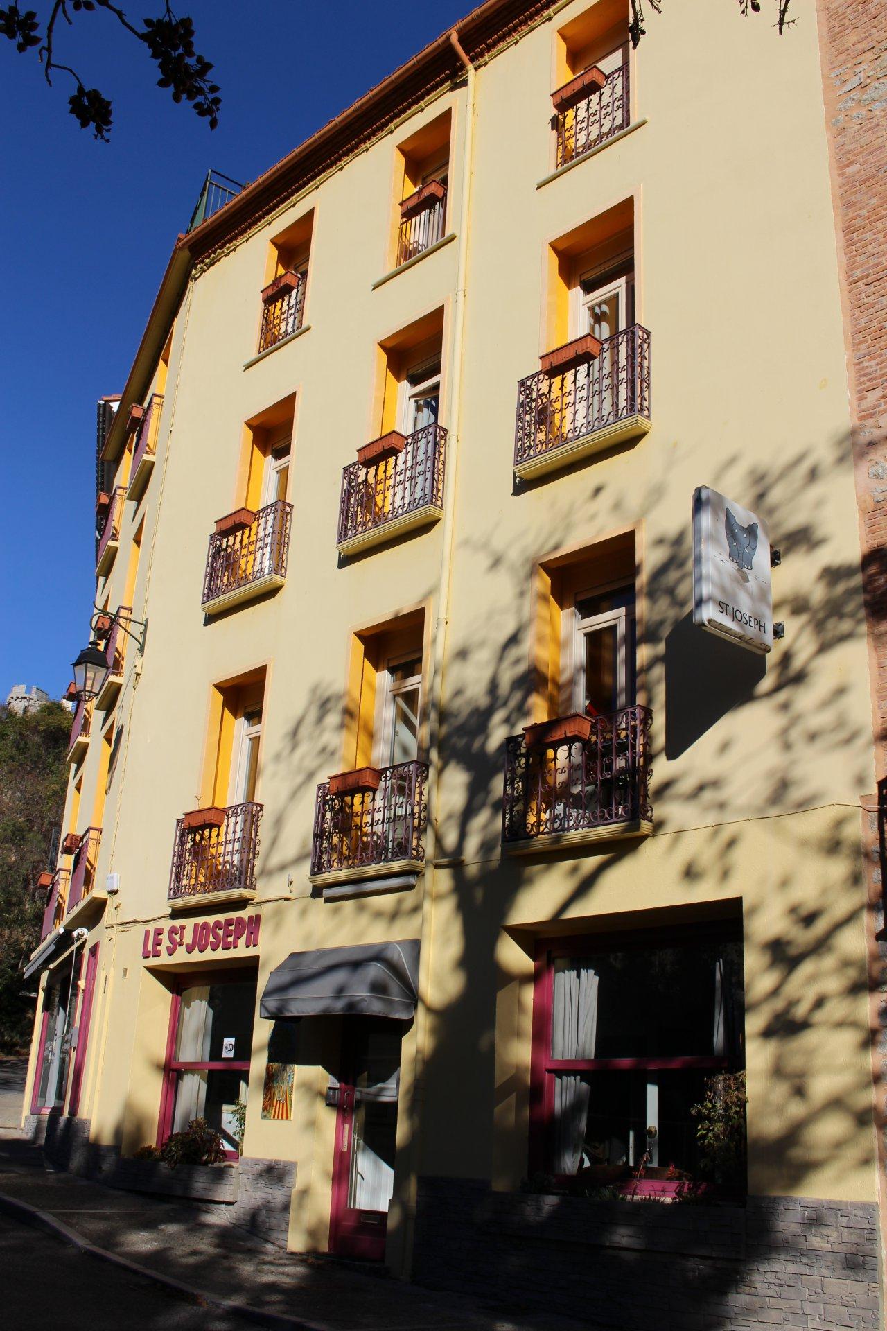 Immeuble locatif saisonnier et restaurant