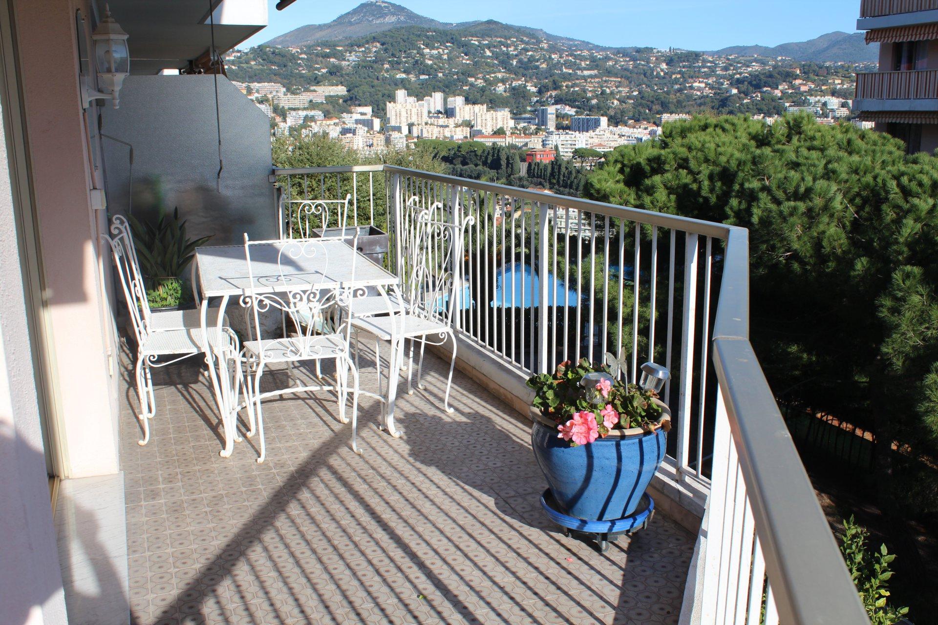 Côte d'Azur Nice Pessicart 4 pièces calme