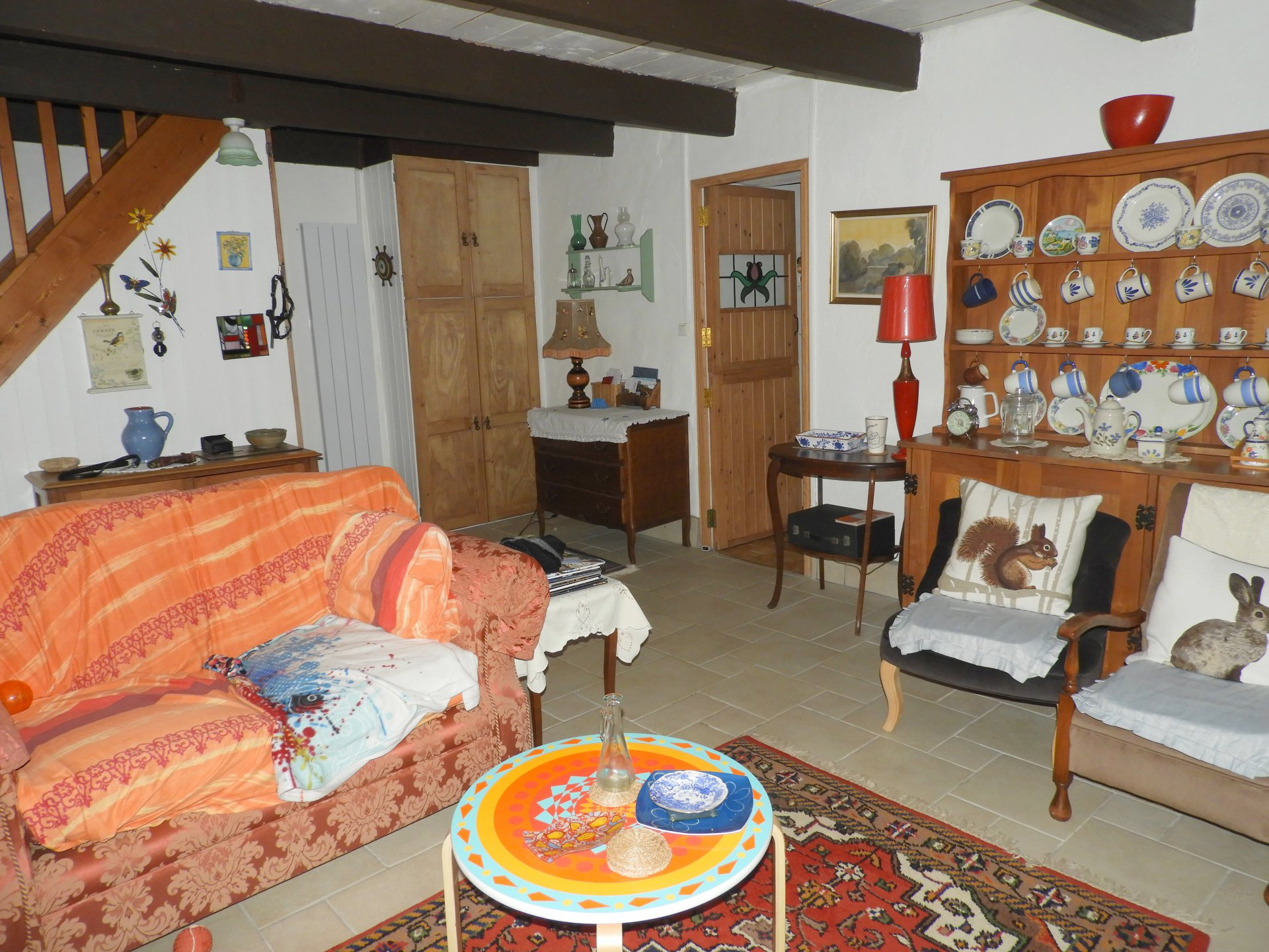 Jolie maison campagnarde au bourg de Maël-Carhaix