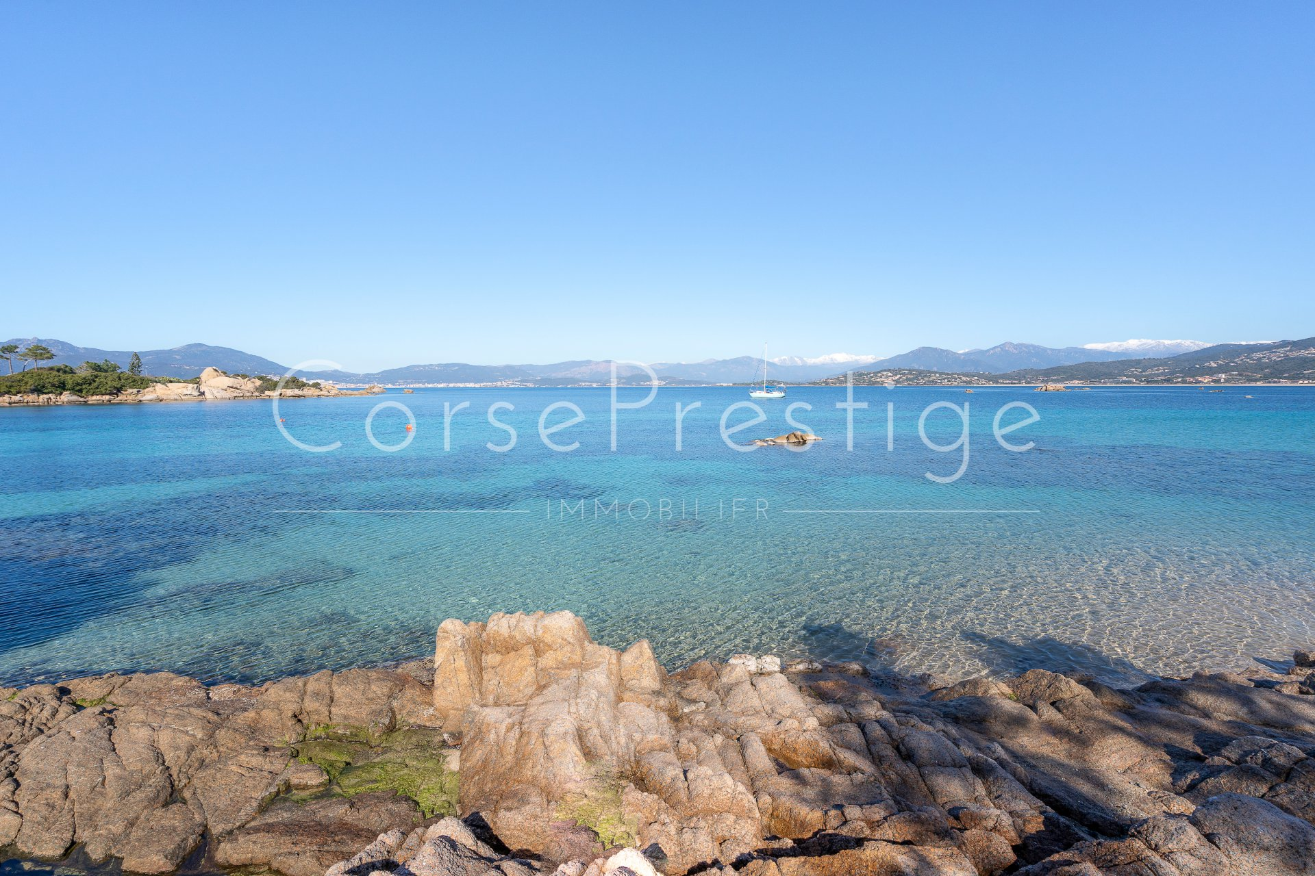 ajaccio gulf - peninsula of isolella - property for sale image1