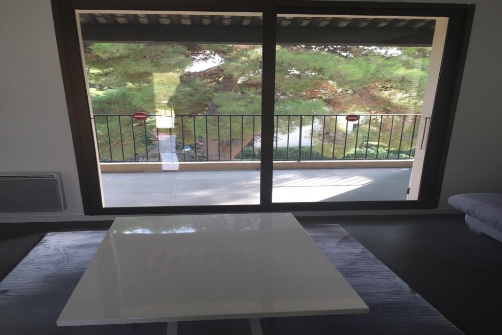 Joli studio entièrement rénové meublé 26m2 environ, cuisine équipée, douche à l'italienne/wc, double terrasse
