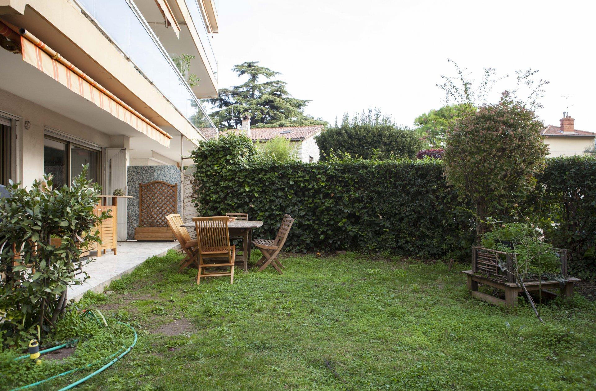 CIMIEZ 4 p terrasse jardin sécurisé