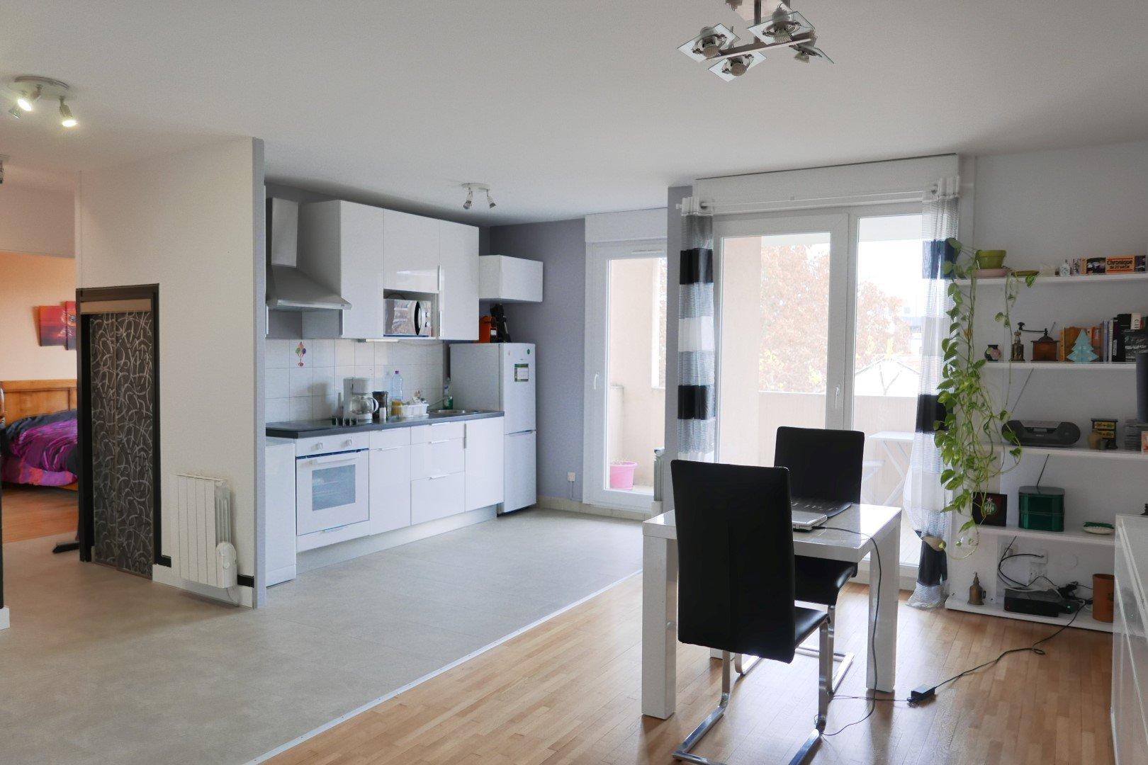 Achat Appartement Surface de 56.04 m², 2 pièces, Villeurbanne (69100)