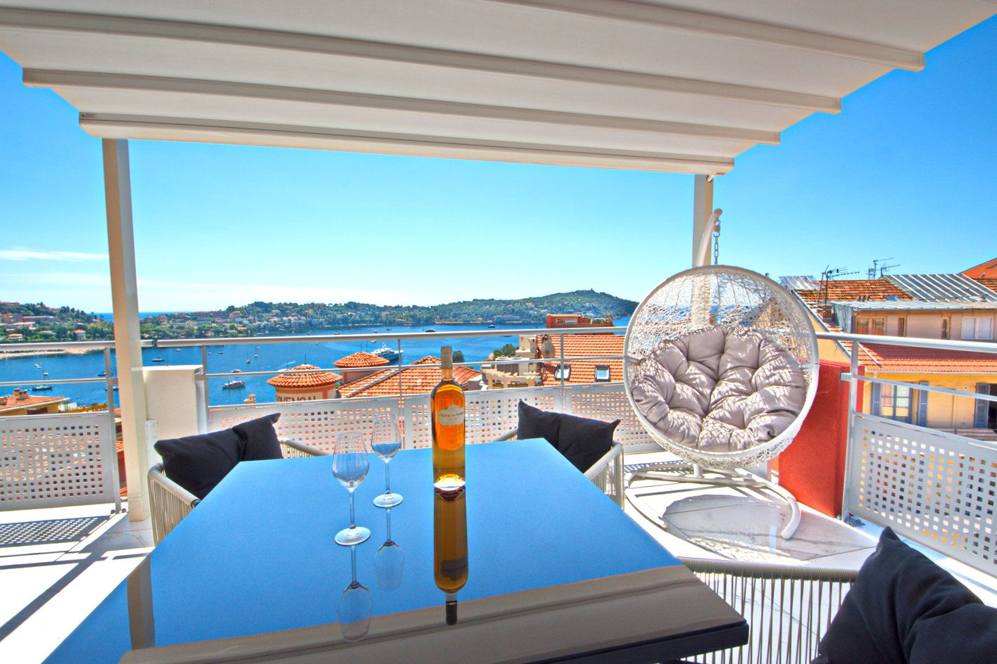 SALE Penthouse Apartment Villefranche-sur-Mer Terrace 50m² Sea Views