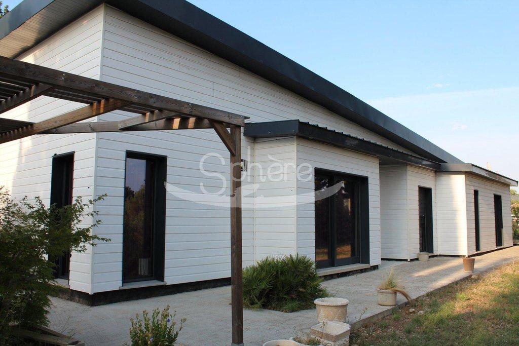 flat roof villa