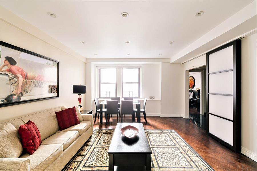 5 room apartment in Central Park South, New York