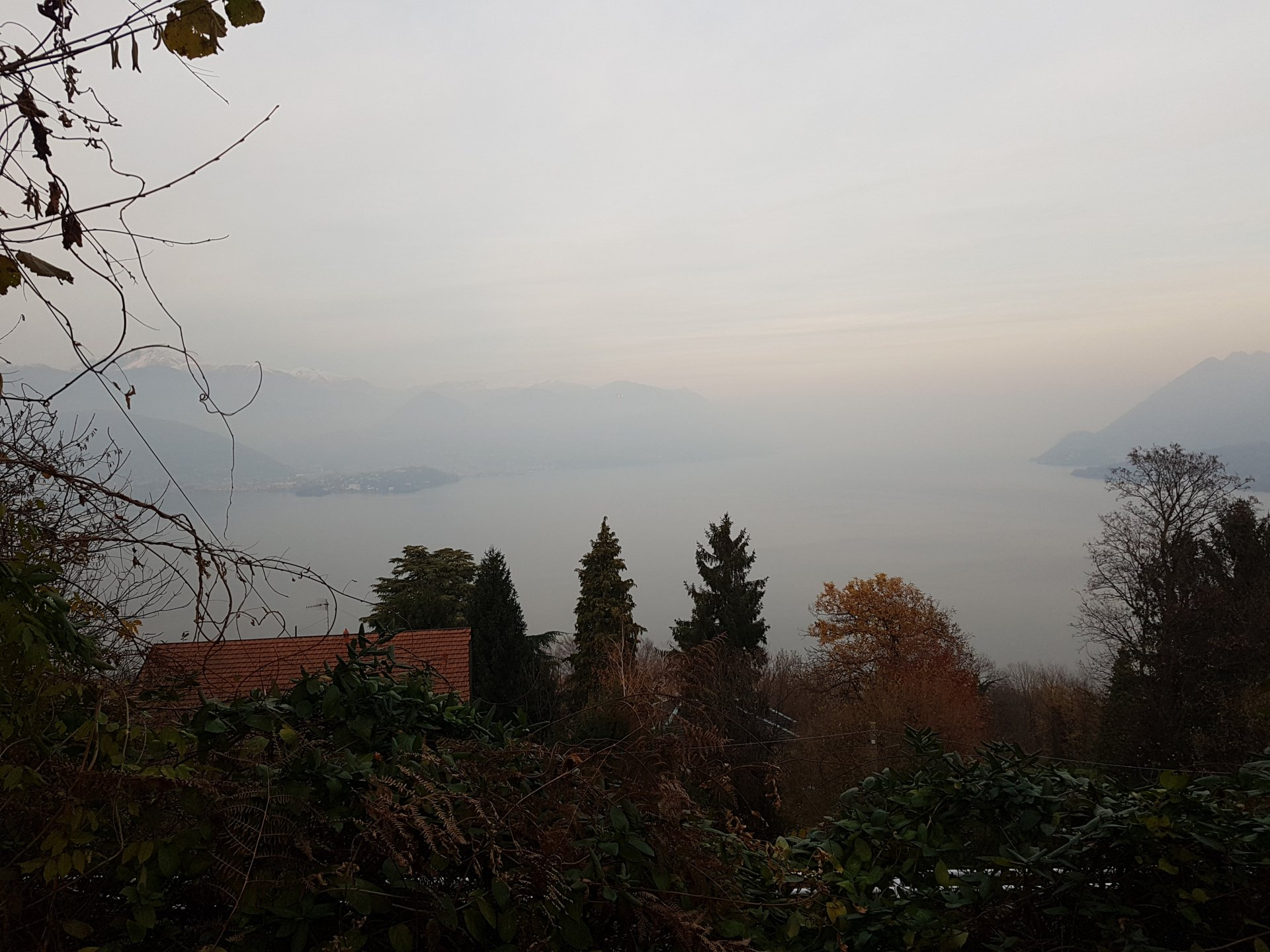 Plot of land buildable in Stresa-land with lake view