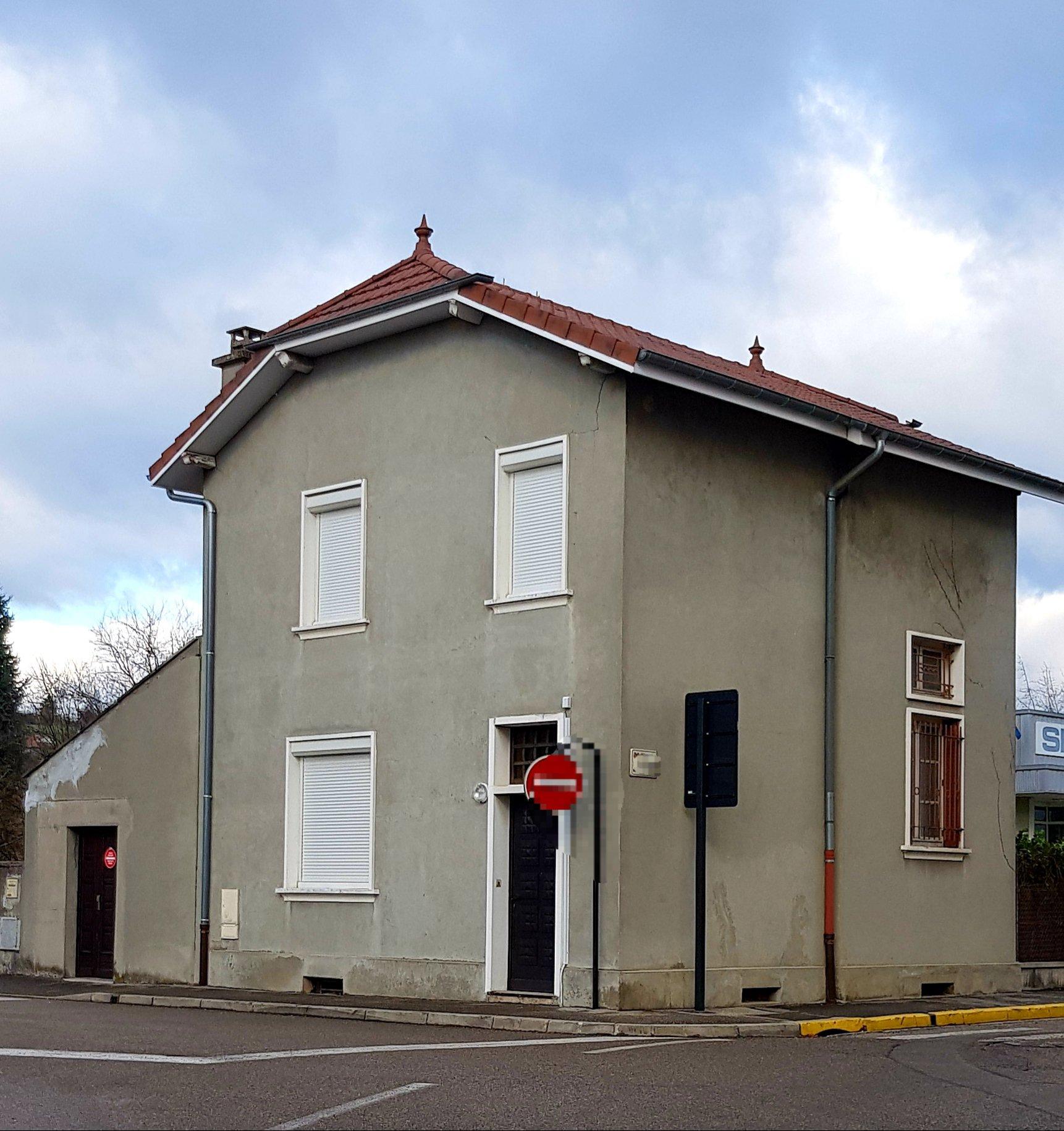 Maison de ville avec terrain 500m²