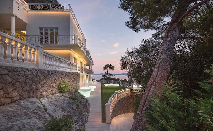 SALE VILLA CAP D'AIL SEA VIEW