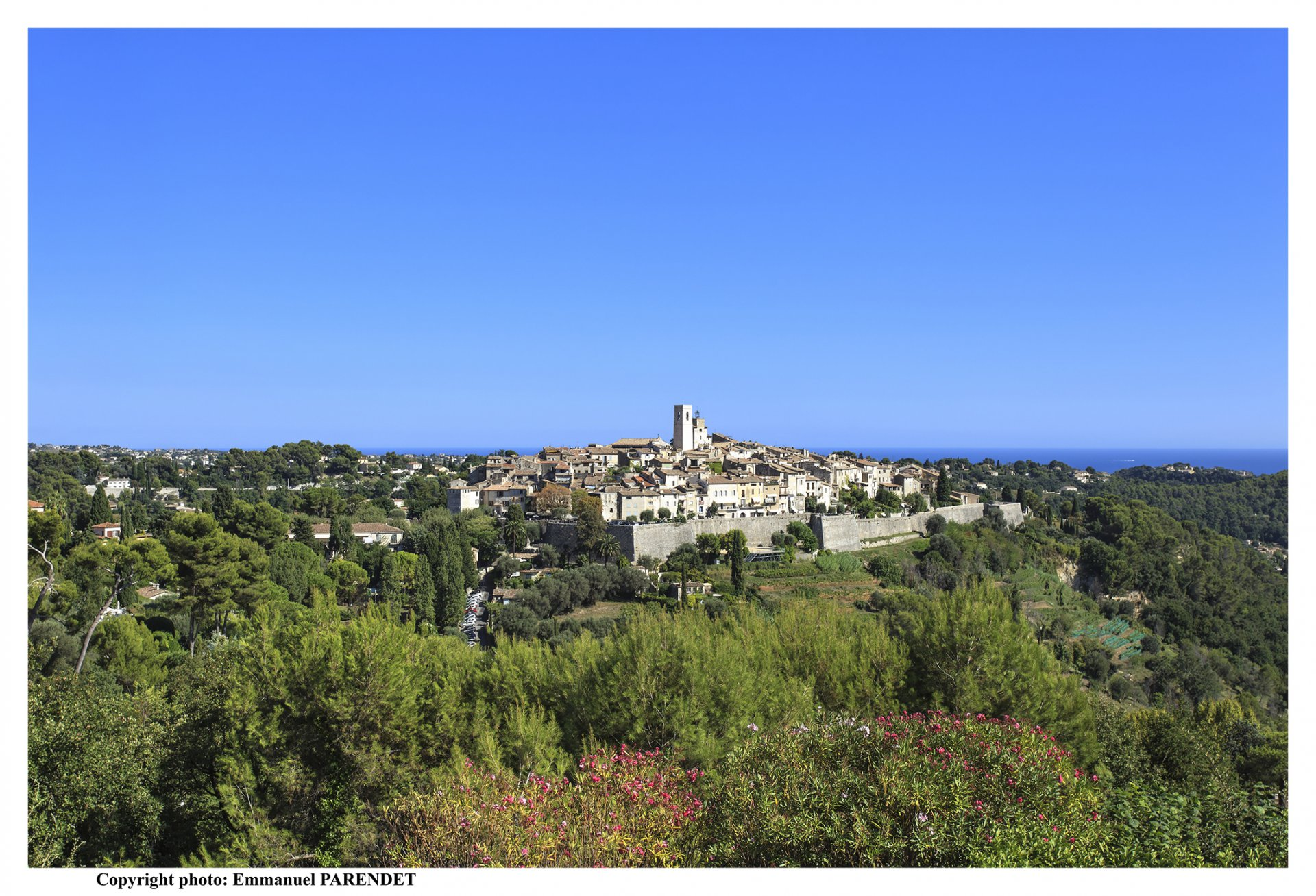 Propriété d'exception à Saint-Paul-de-Vence