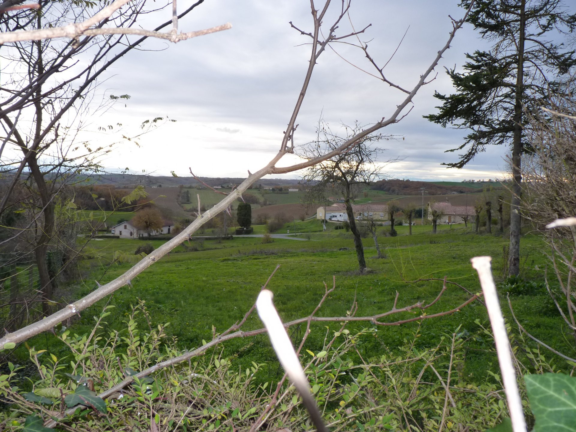 In Senarens, nice plot of 1025 m² to build
