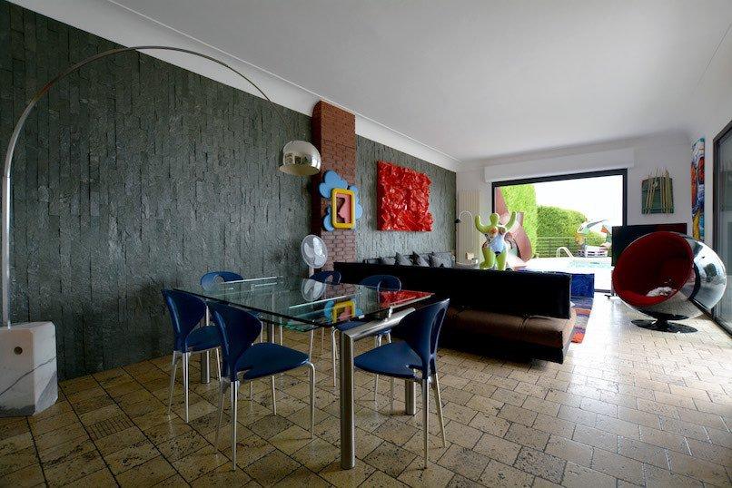 Artist's villa in Villefranche