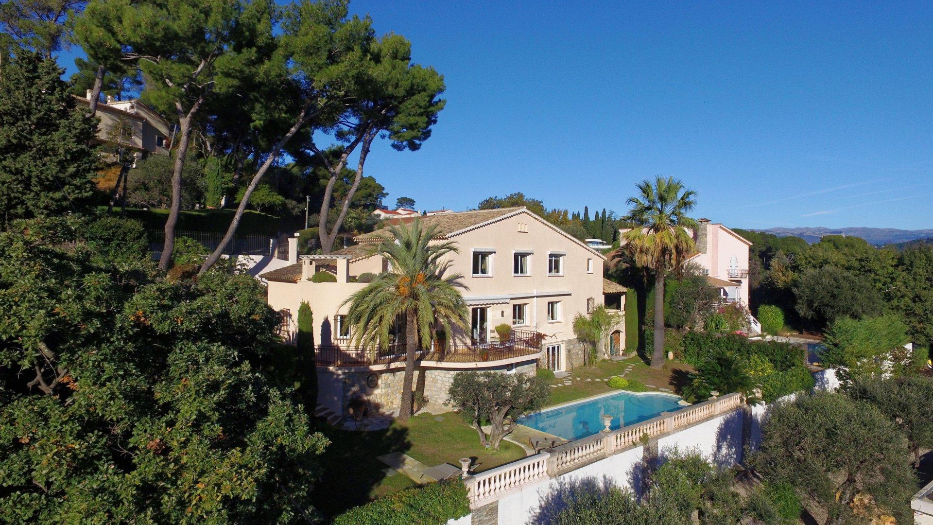 Achat/ Vente villa Mougins vue mer et village