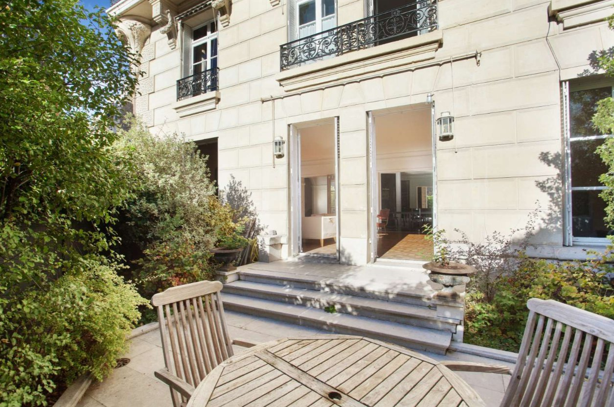 AVENUE GEORGES MANDEL TROCADERO Paris 16e, rez-de-jardin