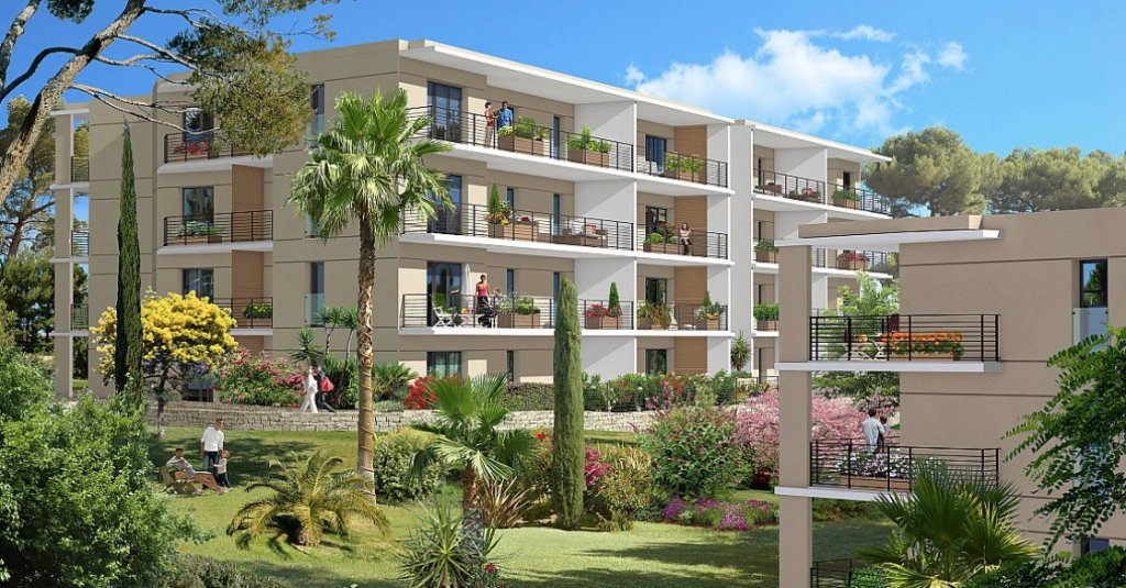 VALLAURIS - French Riviera - Two bed apartment - excellent ROI