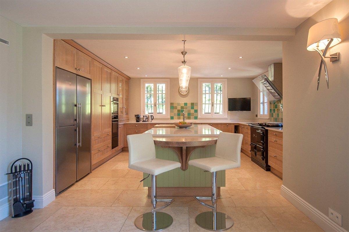 Stainless steel, kitchen bar, kitchen island