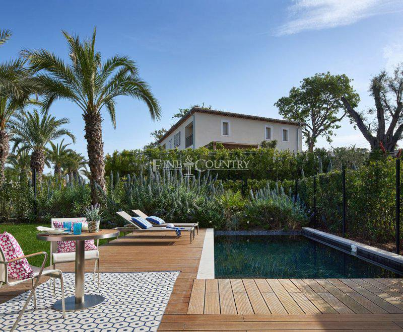 Apartment for sale Cap d'Antibes with private pool in new Luxury development