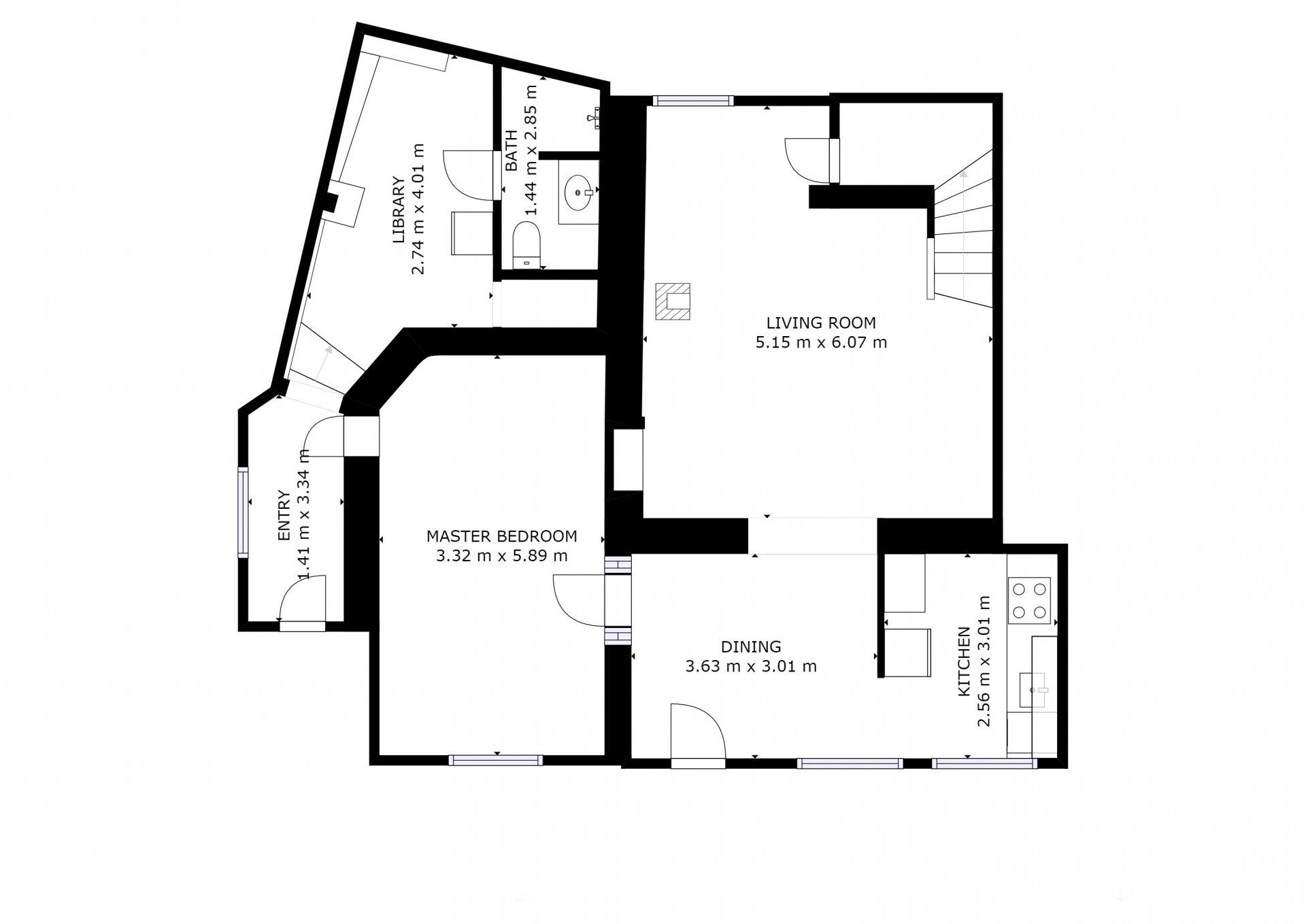 Vente Maison T5 En Centre Ville La Ciotat