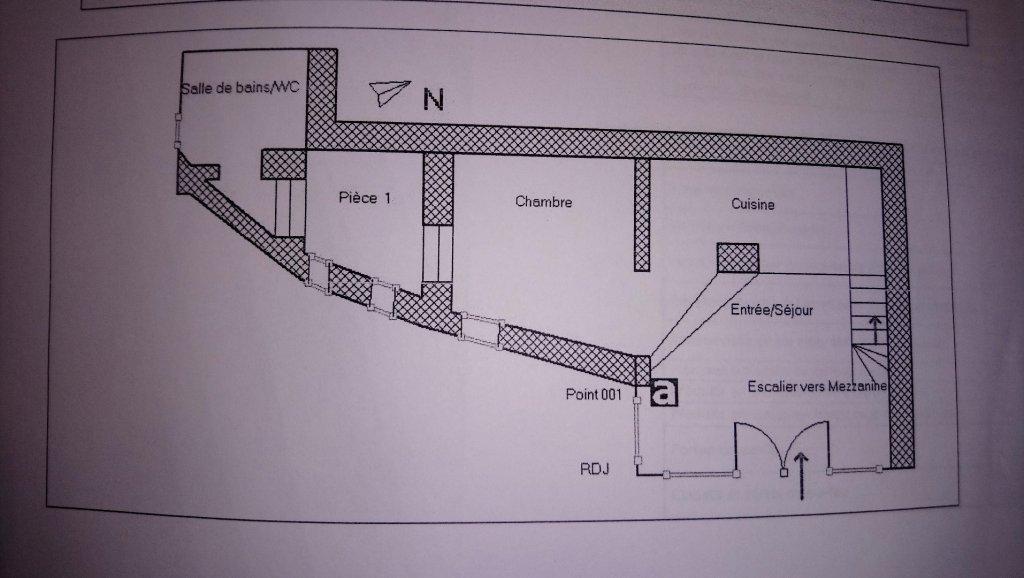 TOURETTE LEVENS : Maison de village de 3 pièces à ...