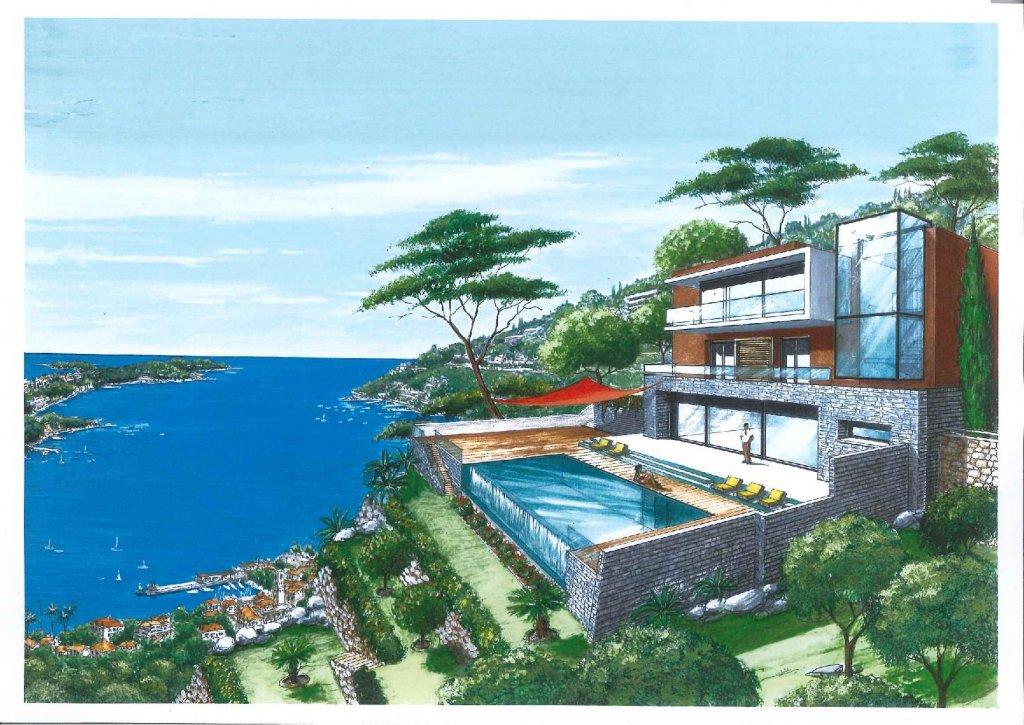 VILLEFRANCHE SUR MER : Magnifique villa en construction ...
