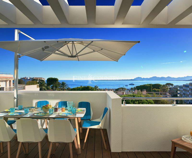Penthouse apartment for sale on the Cap d'Antibes