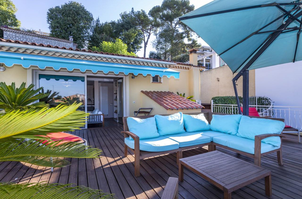 House with pool and garage - Nice Mont Alban
