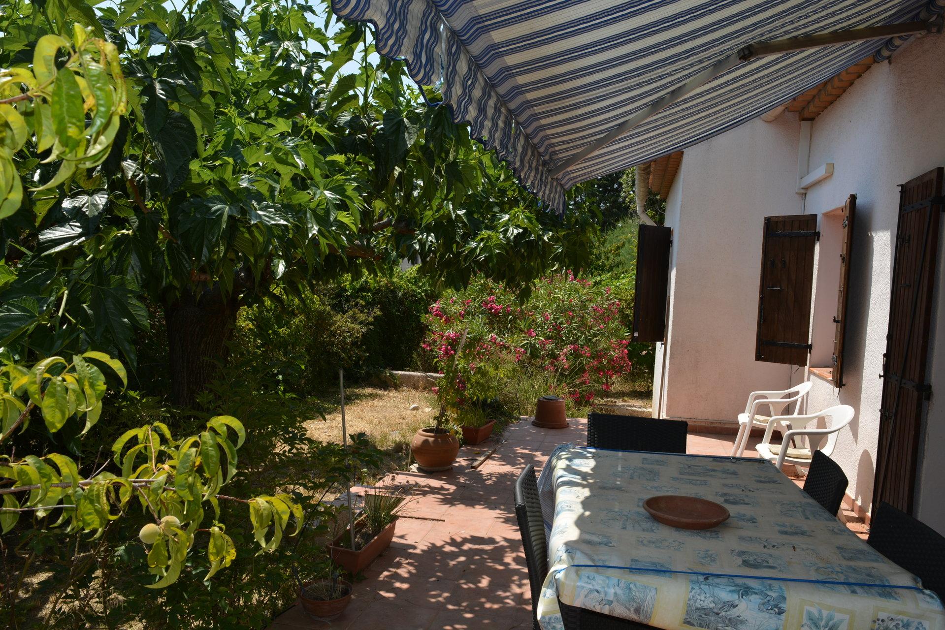 Maison proche ville, jardin, au calme