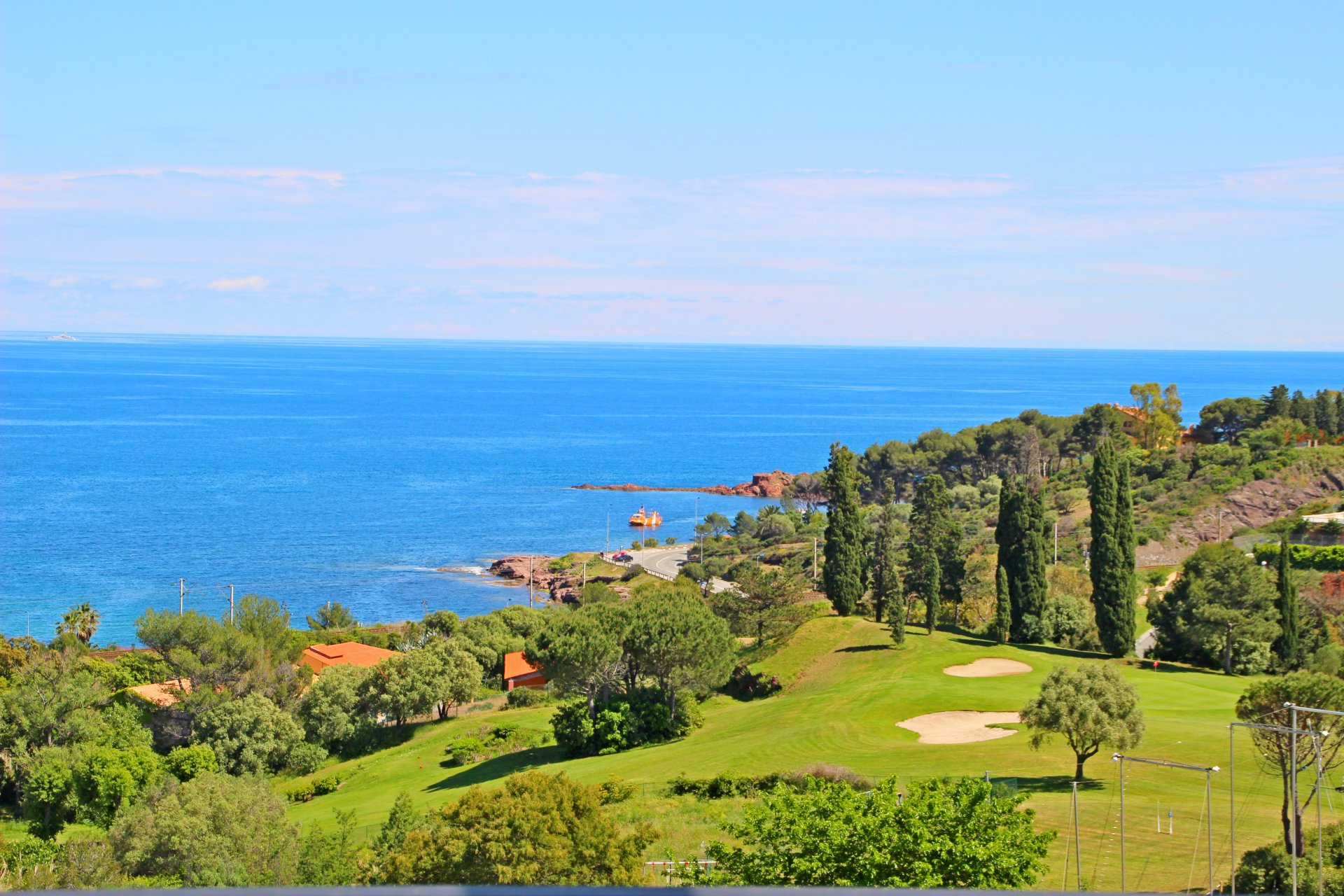 Cap Esterel Village, grand studio vue mer - ref 322la