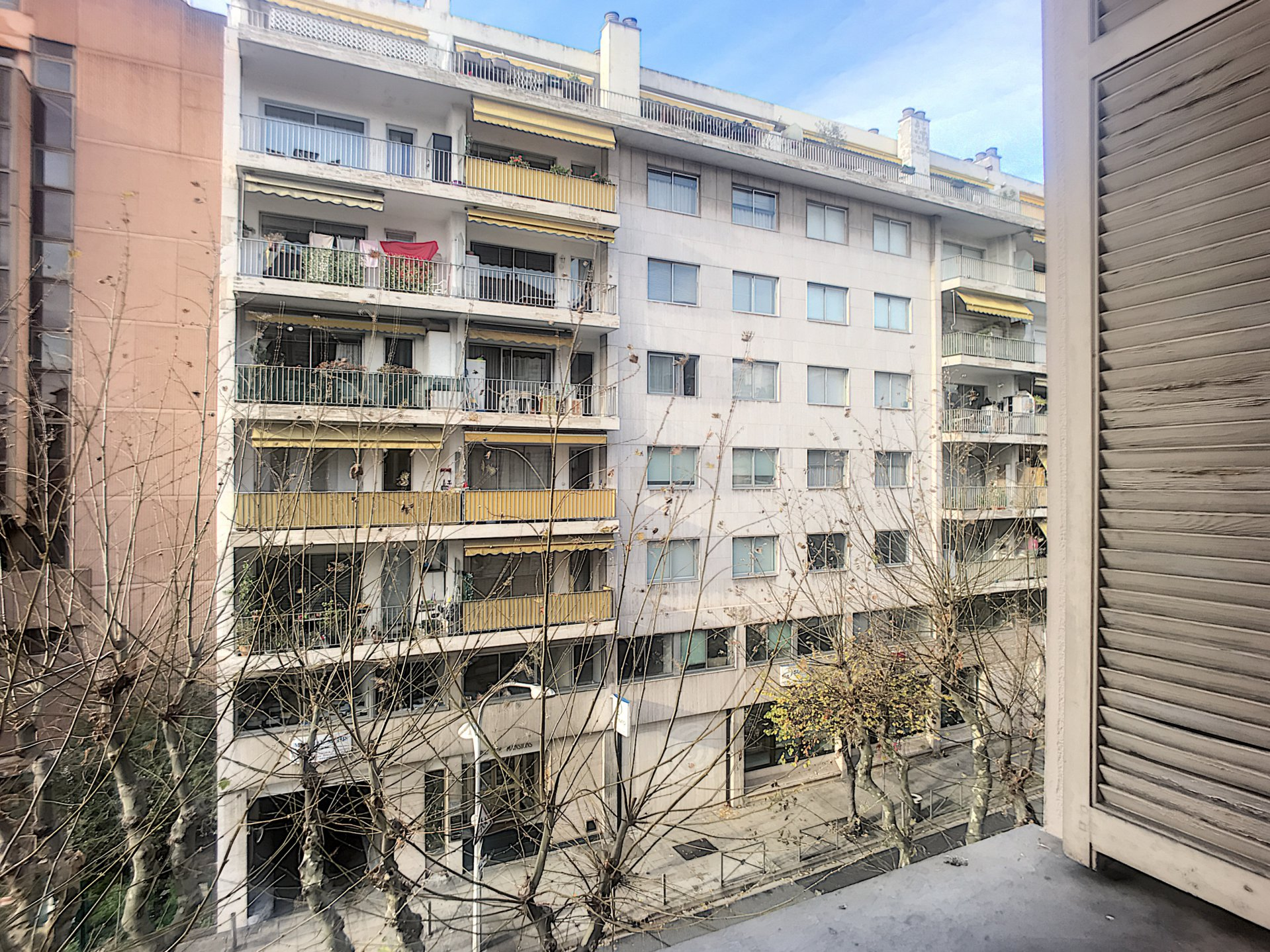 Nice Grosso Boulevard : 1 bedroom apartment with balcony