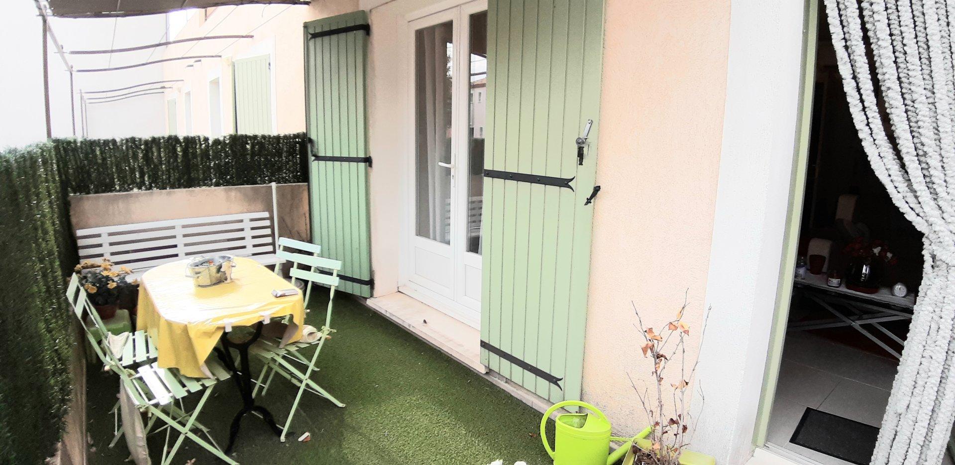 Appartement 3 pièces en résidence sécurisée