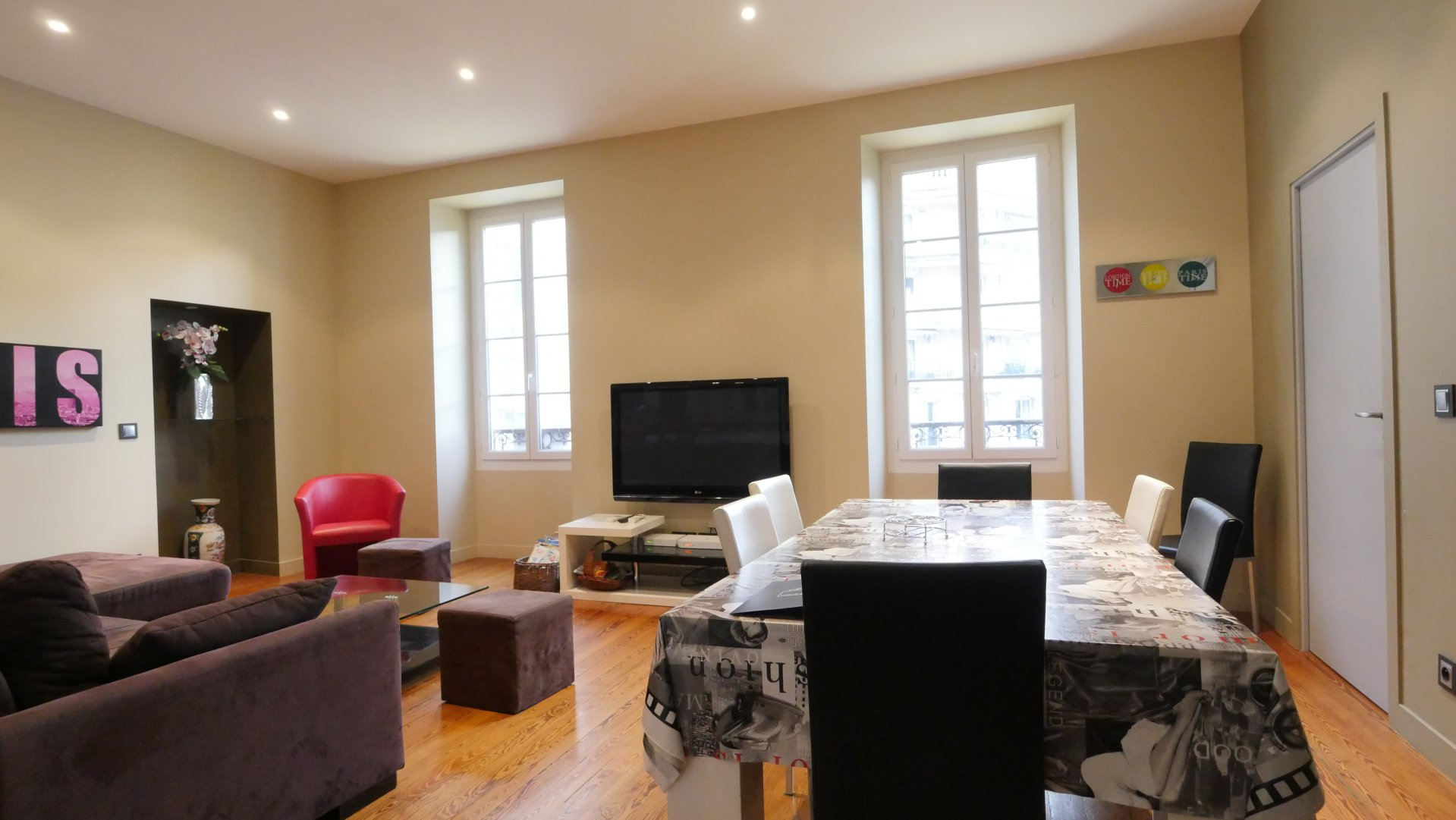 4 rooms renovated in Menton centre