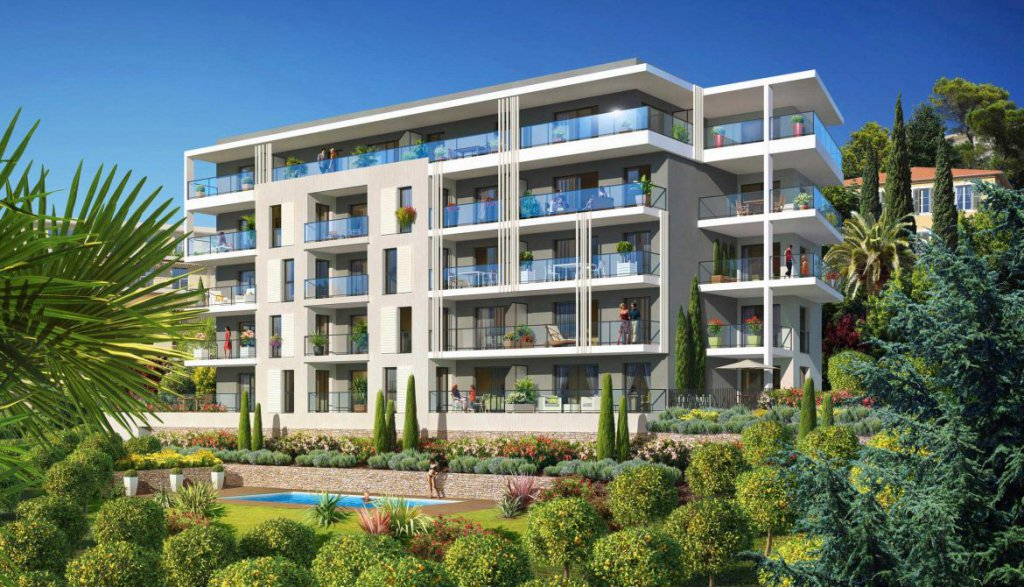 Appartement 3 pieces  avec un jardin et une terrasse