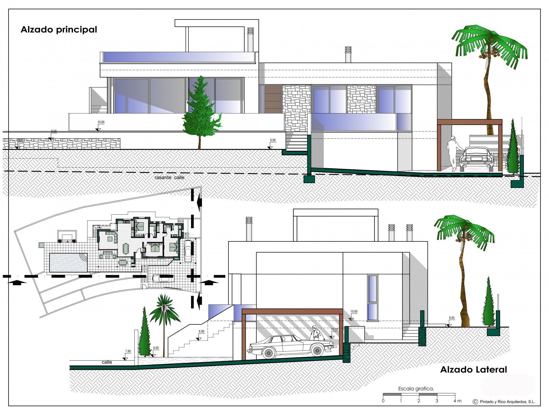 Villa moderne de 3 chambres sur un seul étage à Benissa