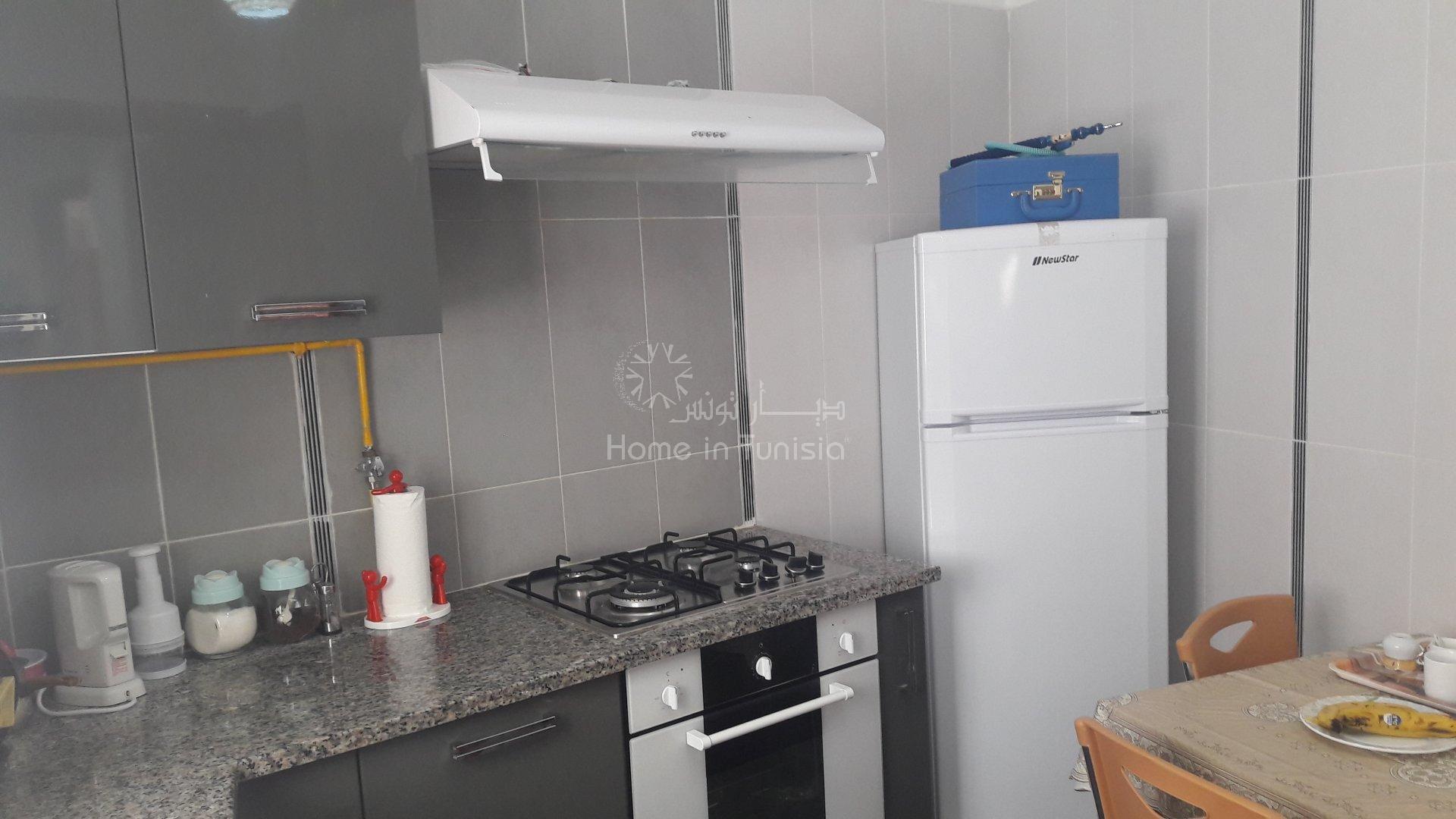 Appartement de type S+2 totalement meublé