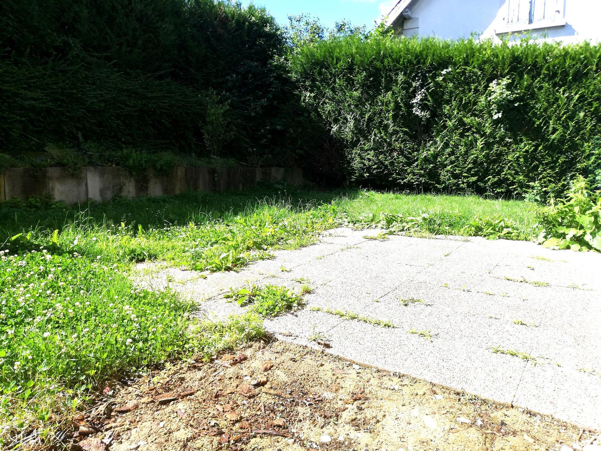 Duplex en rez de jardin