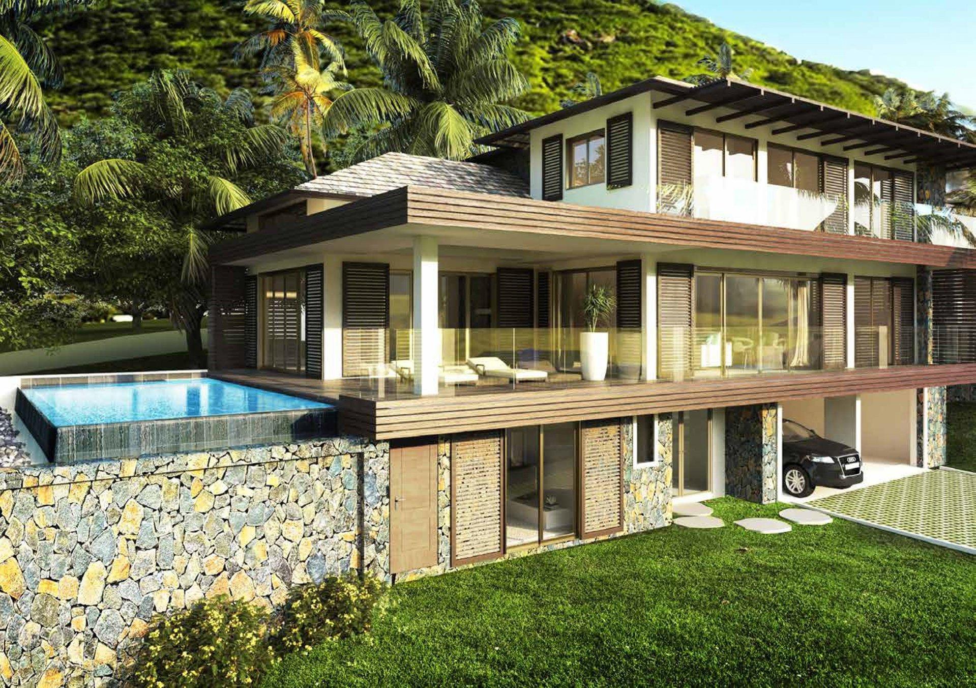 Villas de luxe entre ciel et mer