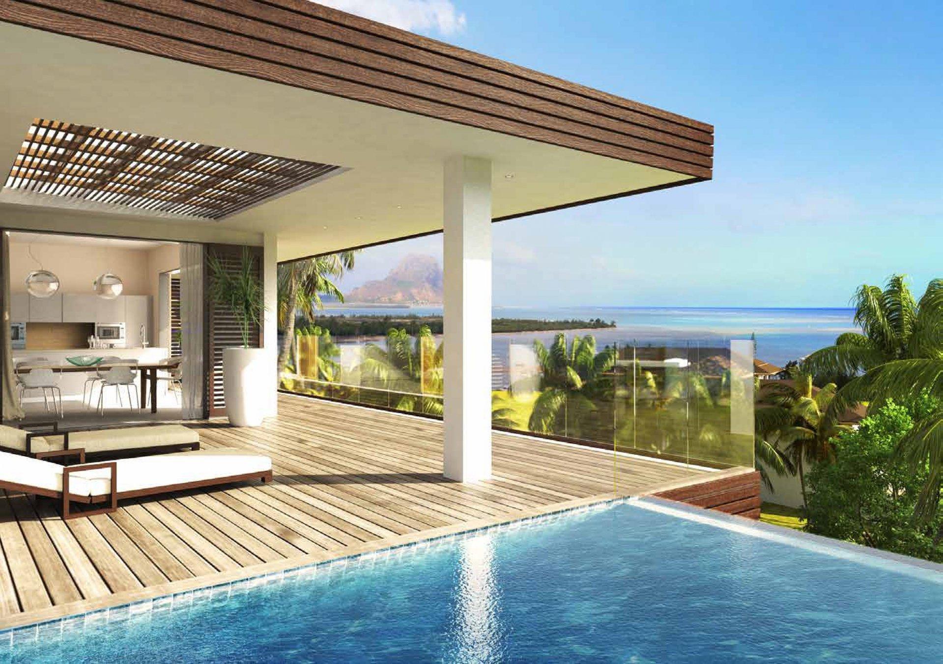 Luxury Villas between sky and sea