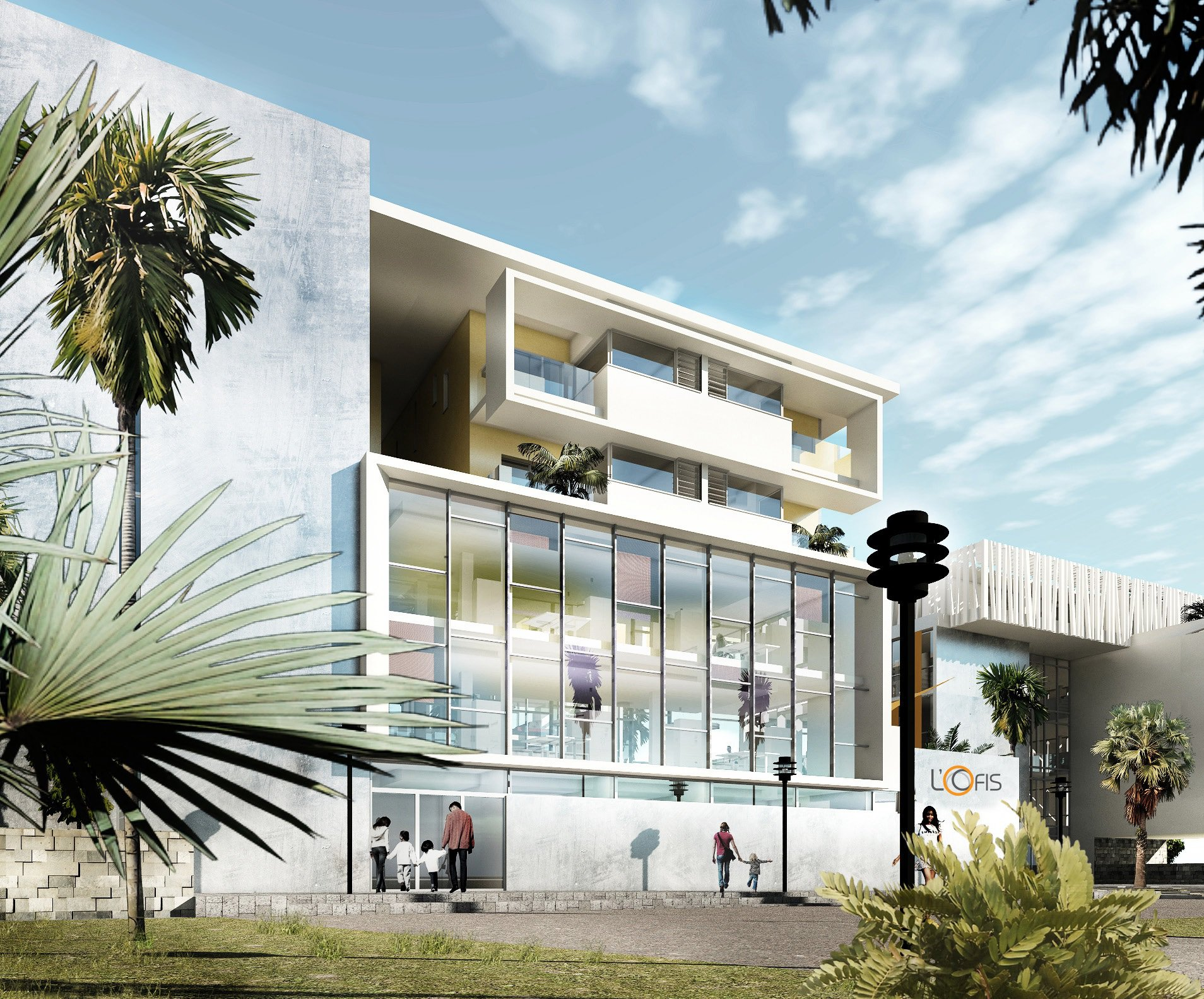 Innovative concept: Commercial, Work and Residential