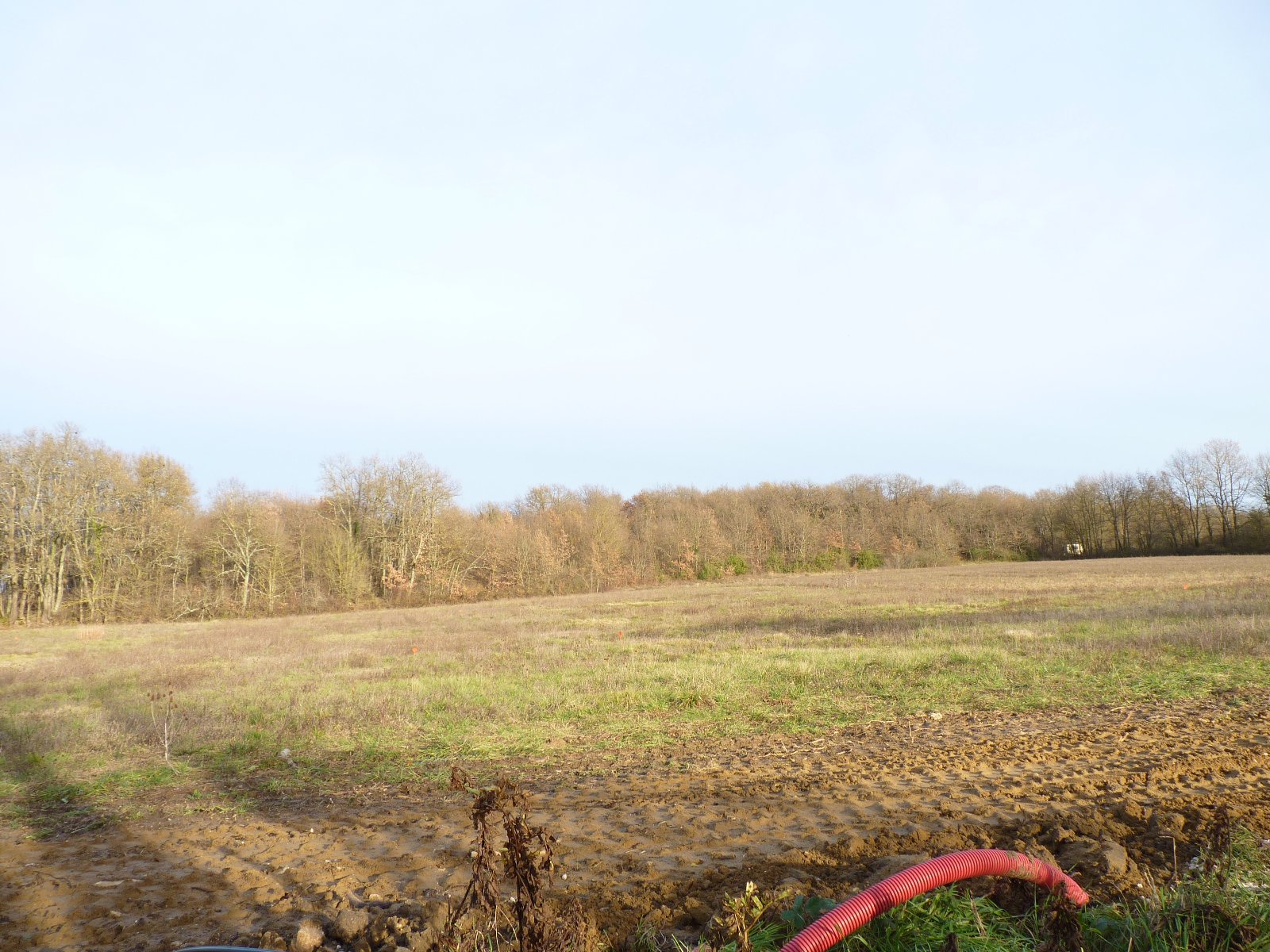 Aurignac, building plot of 1048 m² countryside view